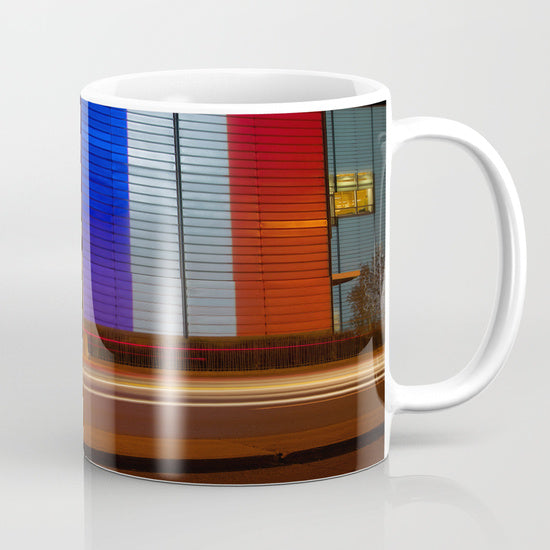 Mugs - French Flag On The Wall - Mugs