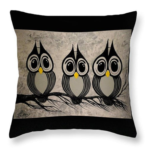 Les Trois Amigos - Throw Pillow
