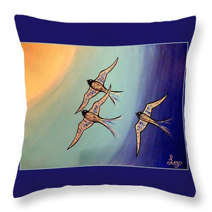 Liberte - Throw Pillow