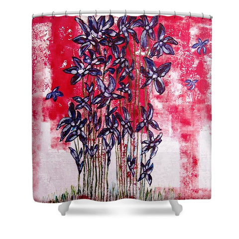 Like A Butterfly - Shower Curtain