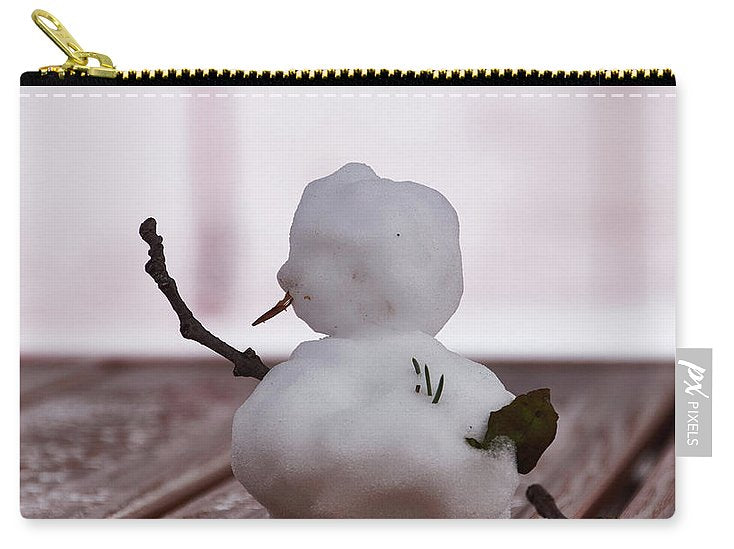 Little Big Snow Man - Carry-All Pouch - Small (6 X 4) - Carry-All Pouch