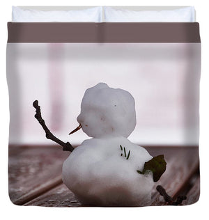 Little Big Snow Man - Duvet Cover - King - Duvet Cover