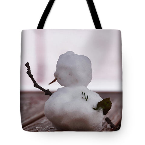 Image of Little Big Snow Man - Tote Bag