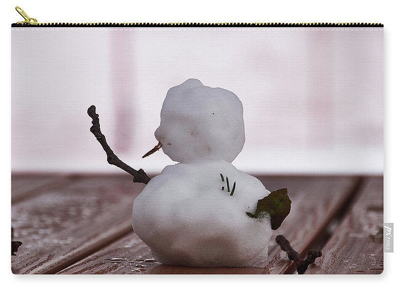 Little Big Snow Man - Carry-All Pouch - Large (12.5 X 8.5) - Carry-All Pouch