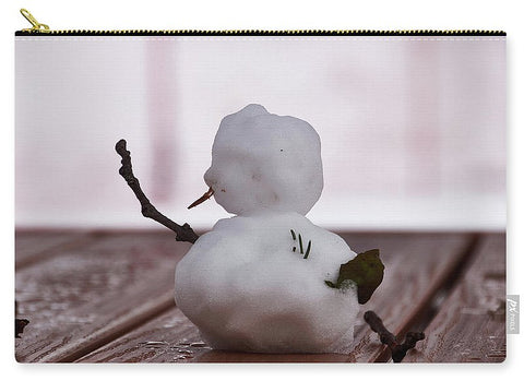 Image of Little Big Snow Man - Carry-All Pouch - Large (12.5 X 8.5) - Carry-All Pouch