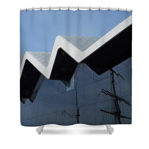Museum In Glasgow - Shower Curtain - 71 X 74 Standard - Shower Curtain