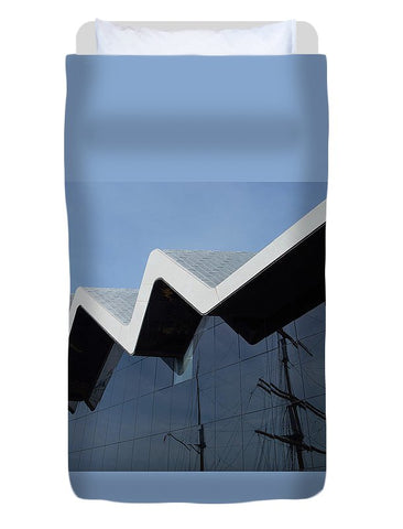 Image of Museum In Glasgow - Duvet Cover - Twin - Duvet Cover