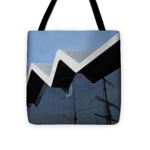Image of Museum In Glasgow - Tote Bag - 16 X 16 - Tote Bag