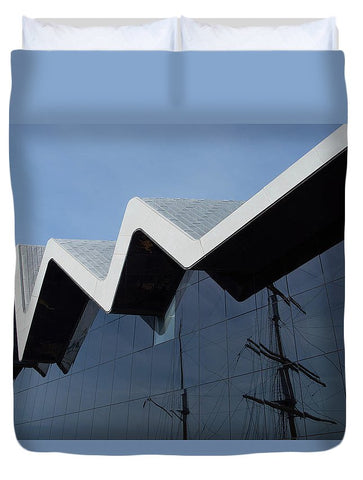 Image of Museum In Glasgow - Duvet Cover - Queen - Duvet Cover