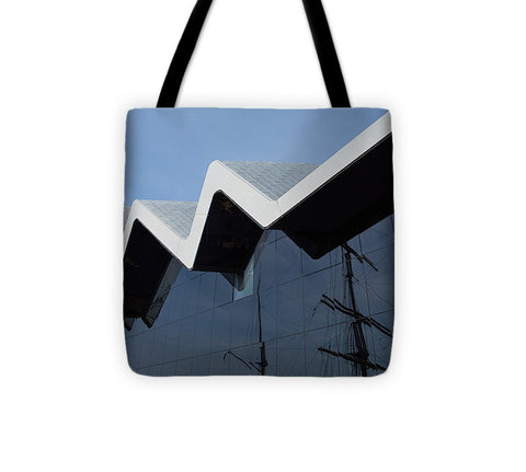Image of Museum In Glasgow - Tote Bag - 13 X 13 - Tote Bag