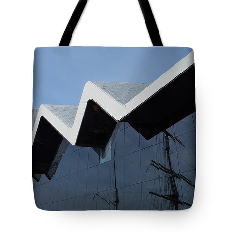 Image of Museum In Glasgow - Tote Bag - 18 X 18 - Tote Bag