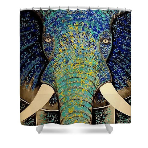 Namastee - Shower Curtain