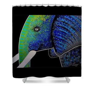 Ganesh - Shower Curtain