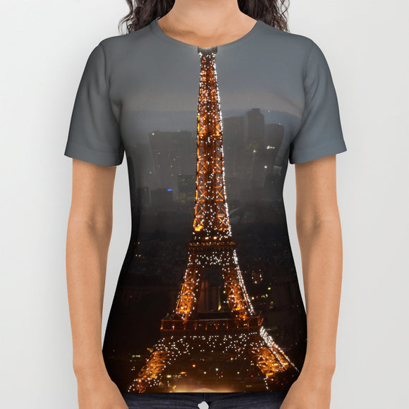 Tshirt - Paris - Eiffel Tower