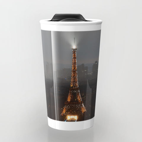 Travel Mugs - Paris Eiffel Tower - Travel Mug