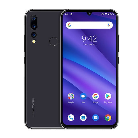Image of Global Version UMIDIGI A5 PRO Android 9.0 Octa Core 6.3' FHD+ Waterdrop 16MP Triple Camera 4150mAh 4GB RAM 4G Celular Smartphone