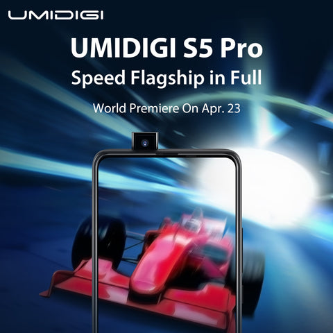 UMIDIGI S5 Pro True Full Screen