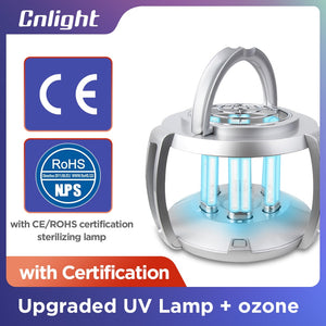 UV lamp sterilizer with quartz radiator - portable germicidal lamp ultraviolet disinfectant