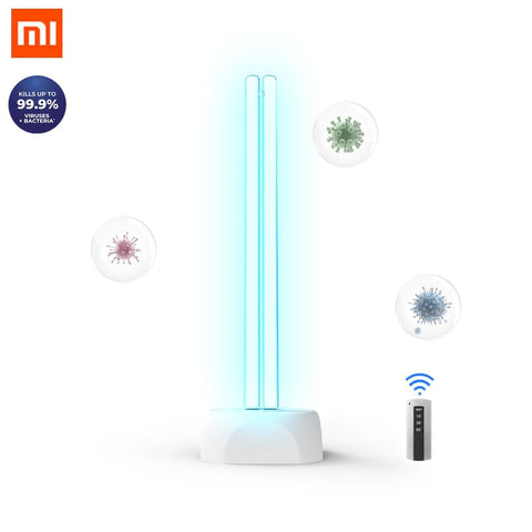 Xiaomi mi Huayi 38W 40m² Ozone UV Disinfection lamp  Household Ultraviolet Lamps  Tube UVC Germicidal Light Sterilizing Lights