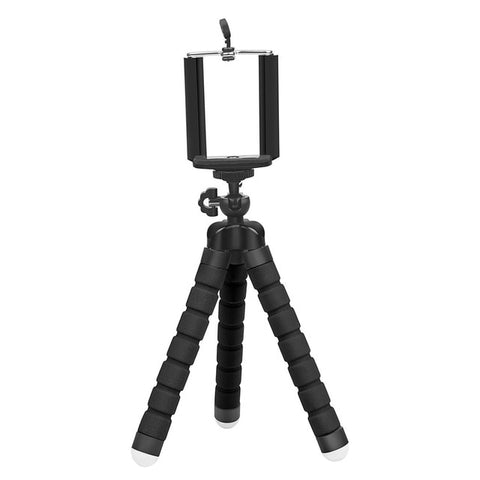 Image of SHOOT Mini Flexible Sponge Octopus Tripod for iPhone Samsung Xiaomi Huawei Mobile Phone Smartphone Tripod for Gopro 9 8 7 Camera