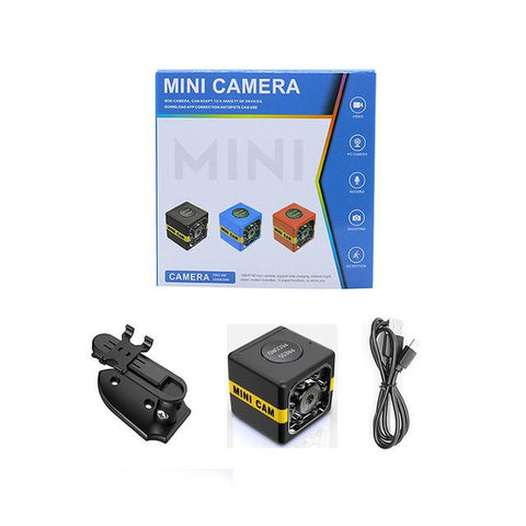SQ11 Mini Camera SQ8 1080P Mini Camcorder HD Sport DVR Monitor Night Vision Voice Recorder Small DV Car Camera PK SQ16 Micro Cam