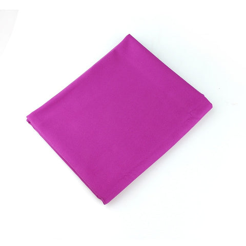 Image of Copozz Brand Swimming Towels Easy Dry Swim Diving Cycling Microfiber Larger Size Sports Travel Gym Towels Size L(75.5*128.5Cm) - Purple / L