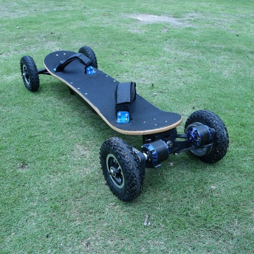 Four Wheels Electric Skateboard And Longboard - As Picture - Scooter