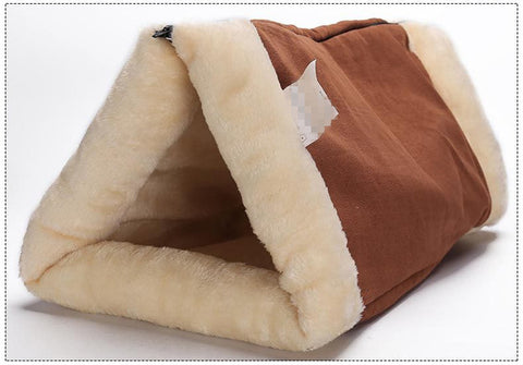 Image of Cute Sleeping Bag Warm Pet Bed For Small Cat And Dog - Pet Products