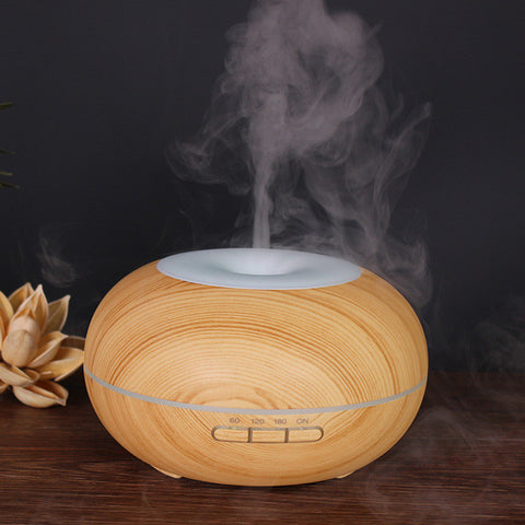 Image of Air Humidifier - Oil Diffuser - Dark Khaki / China - Gadgets