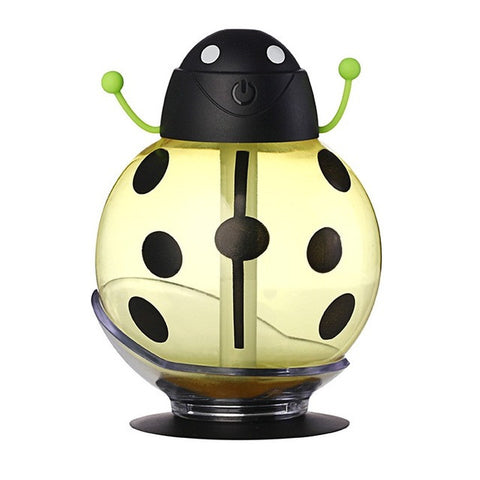 Image of Usb Beetle Humidifie - Aroma Diffuser - Yellow - Gadgets