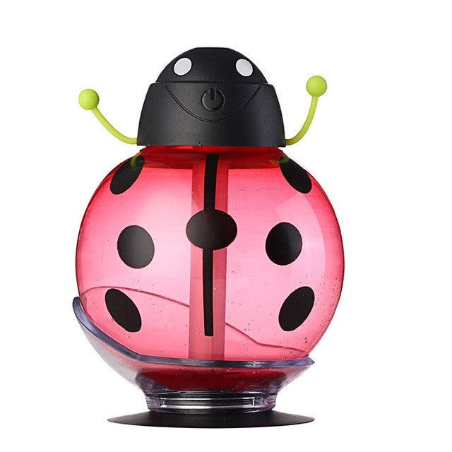 Usb Beetle Humidifie - Aroma Diffuser - Red - Gadgets