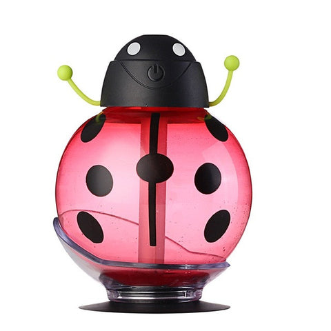 Image of Usb Beetle Humidifie - Aroma Diffuser - Red - Gadgets