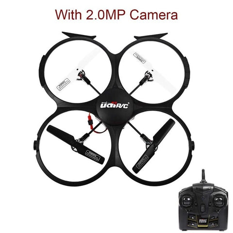 Rc Drone U818A Updated Version - With Camera - Drone