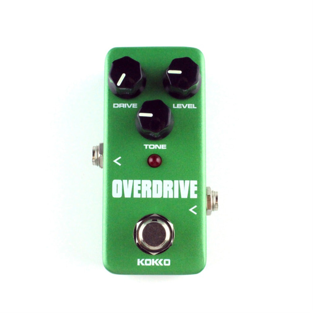 Mini Kokko Vintage Overdrive Guitar Effect Pedal Guitarra Overdrive Booster High-Power Tube Overload Guitar Stompbox Fod3 - Pedal For