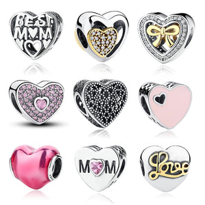 12 Style Original 925 Sterling Silver Heart - Jewelry