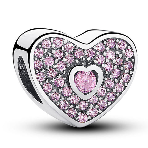 12 Style Original 925 Sterling Silver Heart - Pas132 - Jewelry