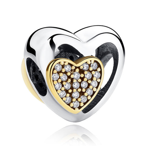 12 Style Original 925 Sterling Silver Heart - Pas265 - Jewelry