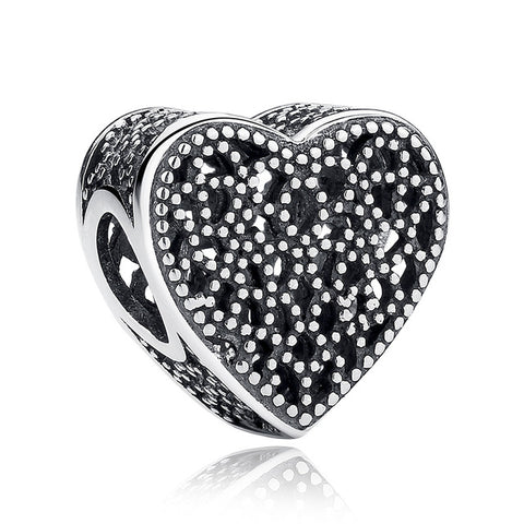 12 Style Original 925 Sterling Silver Heart - Pas267 - Jewelry