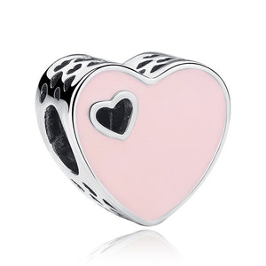 12 Style Original 925 Sterling Silver Heart