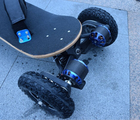 Image of Four Wheels Electric Skateboard And Longboard - Scooter