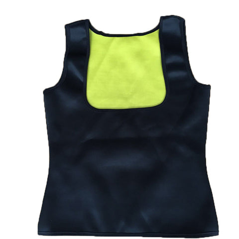Neoprene Cami Vest Body Shaper - Black / L - Fashionwomen