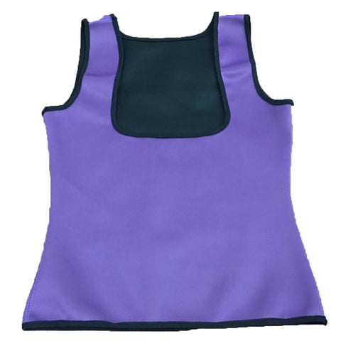 Neoprene Cami Vest Body Shaper - Purple / L - Fashionwomen