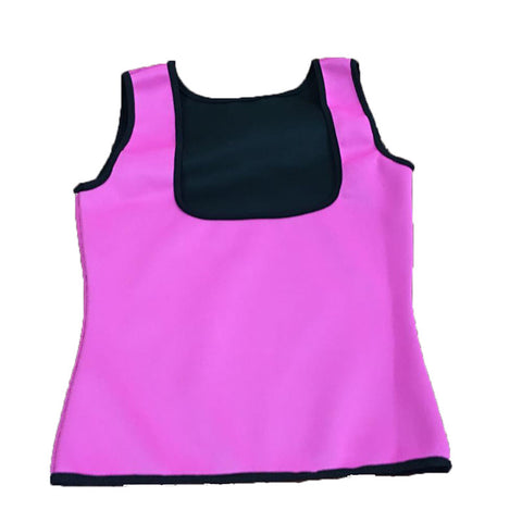 Image of Neoprene Cami Vest Body Shaper - Pink / L - Fashionwomen