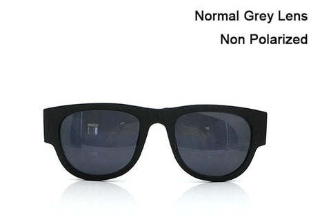 Image of Slappable Bracelet Sun Glasses For Men And Women - Non Polarized Grey / White - Sunglasses