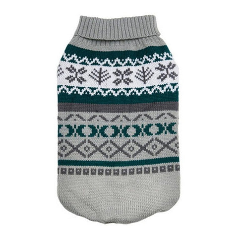 Image of Pet Dog Clothes For The Winter - Gray / L - Pet Products