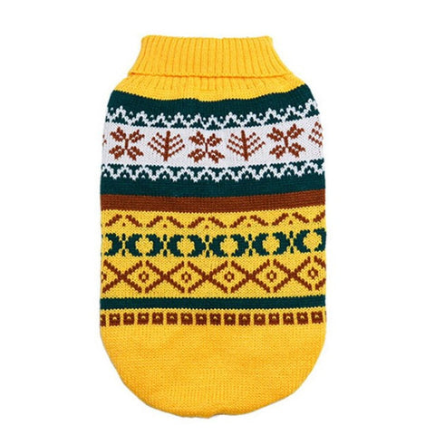 Image of Pet Dog Clothes For The Winter - Yellow / L - Pet Products