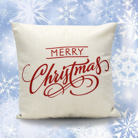 Image of High Quality Luxury Brand Vintage Christmas Pillow - Throw Pillow