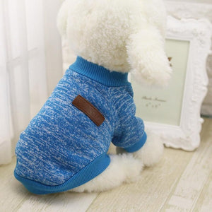 Hot Sale Pet Dog Clothes For Small Dogs - Blue / L - Pet Products