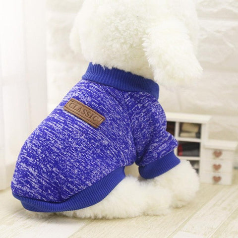 Image of Hot Sale Pet Dog Clothes For Small Dogs - Dark Blue / L - Pet Products