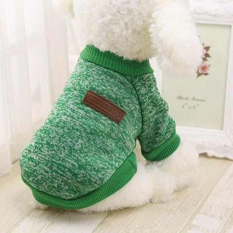 Image of Hot Sale Pet Dog Clothes For Small Dogs - Green / L - Pet Products